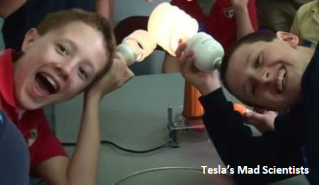Tesla's Mad Scientists