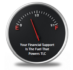 Your Financial Support Is The Fuel That Powers TLC